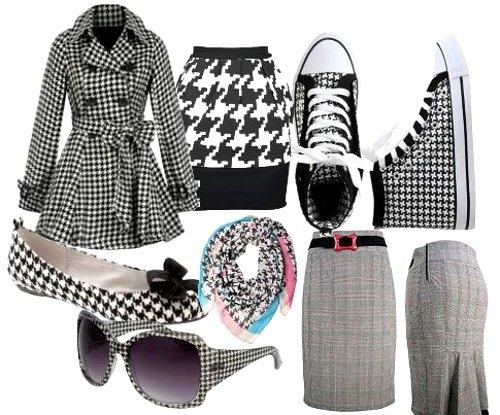 Модные принты осень 2012