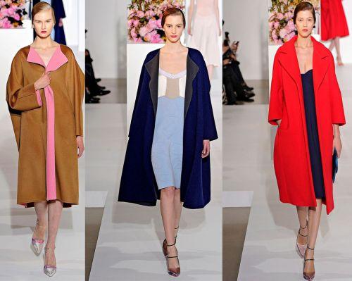 Модные пальто 2012-2013