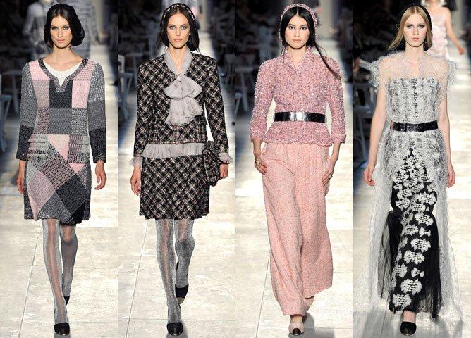 Коллекция осень-зима 2012-2013 от Chanel