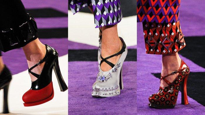Женские туфли 2013