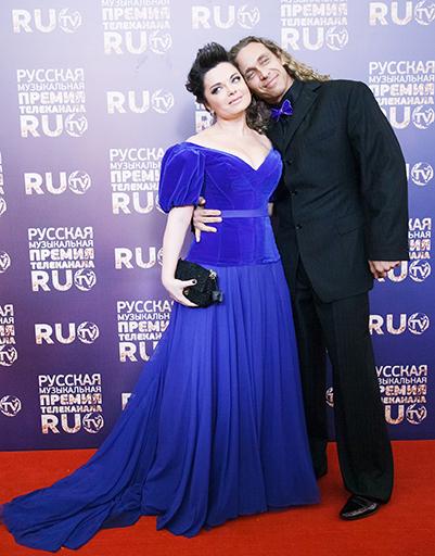 Наташа Королева и Тарзан на Премии Ru.tv 2013