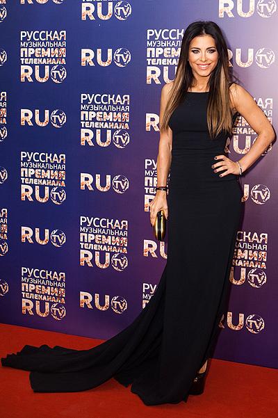 Ани Лорак на Премии Ru.tv 2013