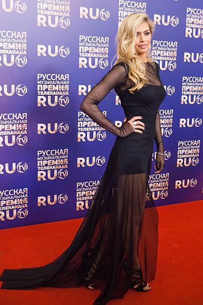 Вера Брежнева на Премии Ru.tv 2013