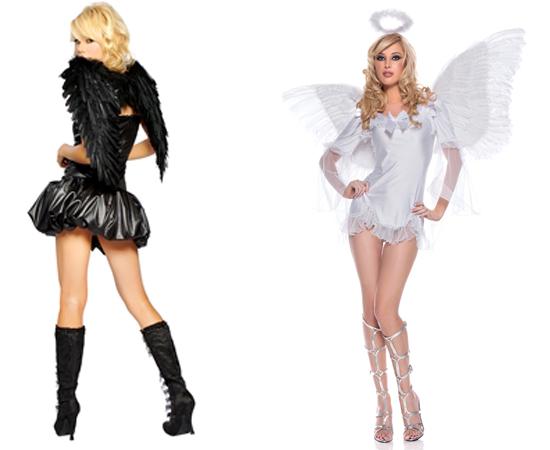 Костюмы на хэллоуин ангел