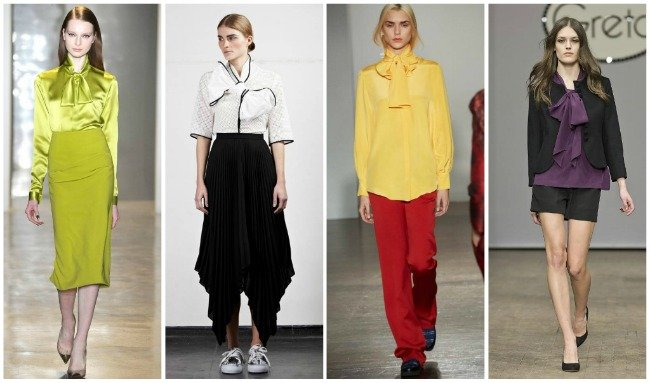 Модные блузки осень-зима 2014-2015 e217c162b49