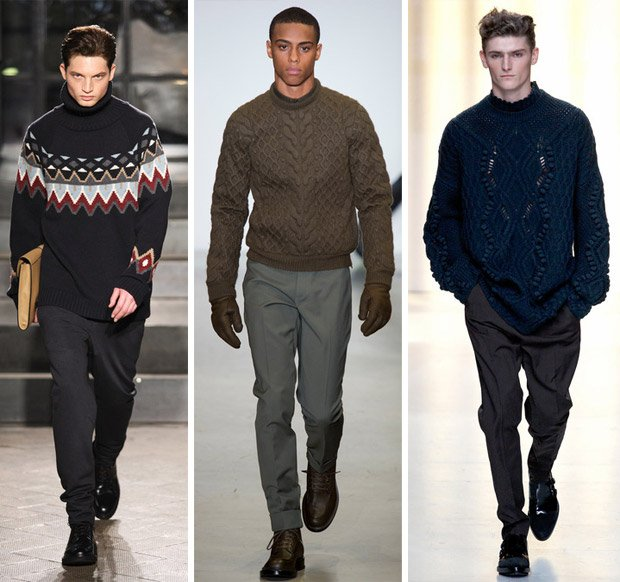 мужские свитера осень-зима 2014-2015