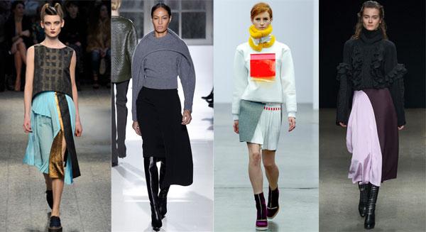 Модные юбки осень-зима 2014-2015