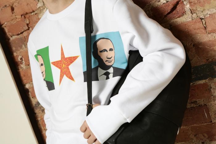 Футболки и регланы с изображением Путина