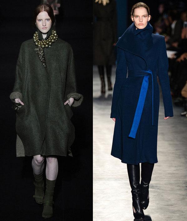 Модные женские пальто осень-зима 2014-2015