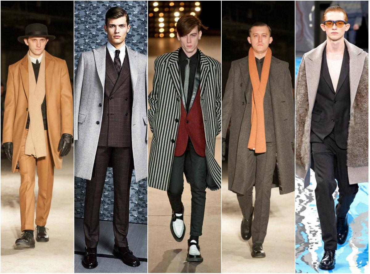 Модные мужские пальто осень-зима 2014-2015
