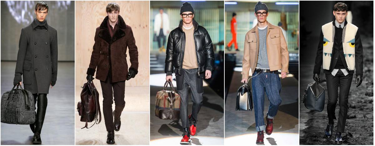 Модные мужские сумки осень-зима 2014-2015