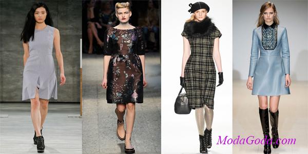 Модные офисные платья осень-зима 2014-2015Модные офисные платья осень-зима 2014-2015