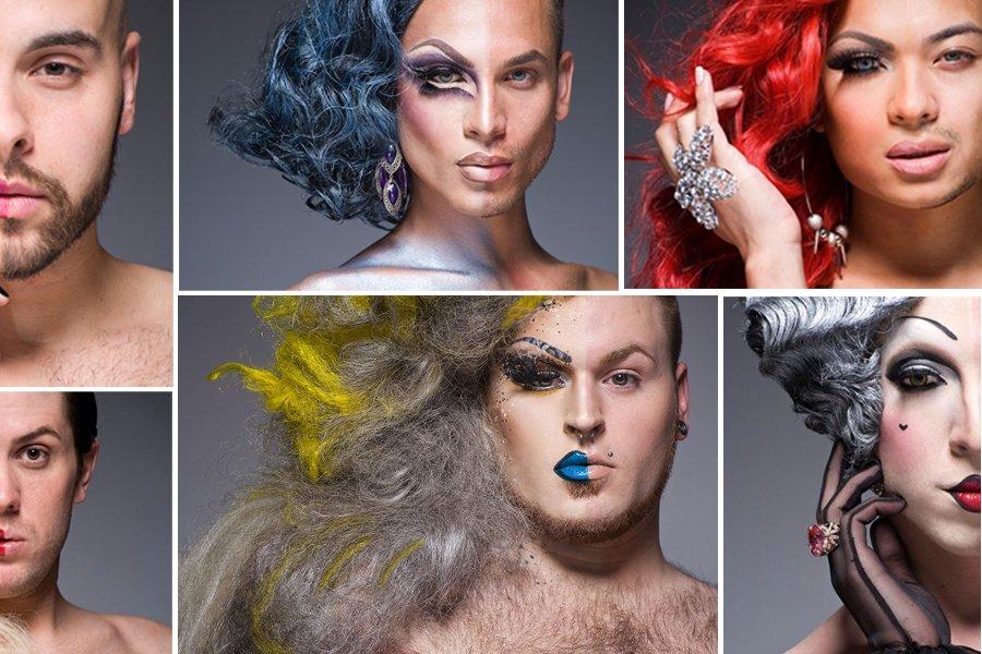 Смотреть макияж мужчины