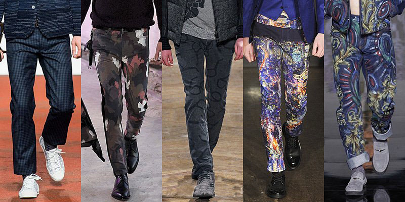 Модные мужские джинсы осень-зима 2014-2015