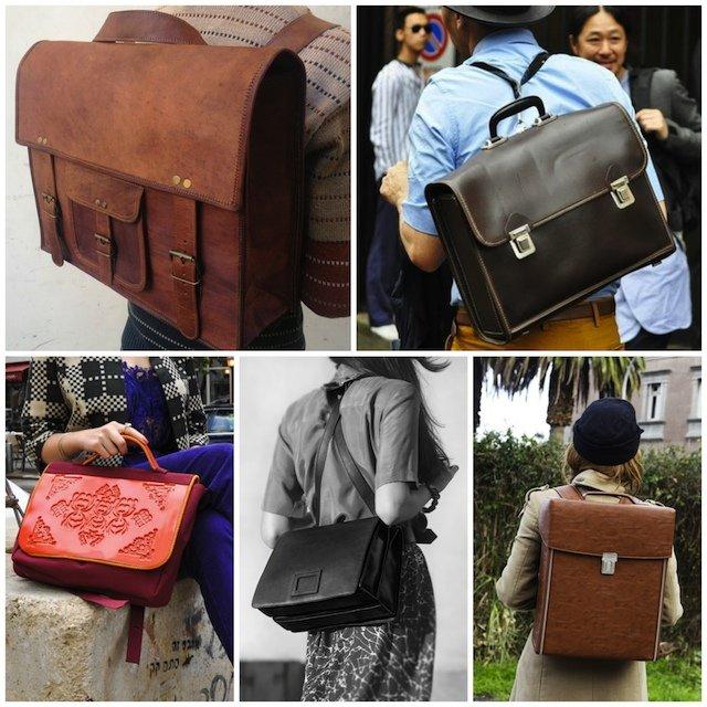 Модные мужские и женские рюкзаки 2015