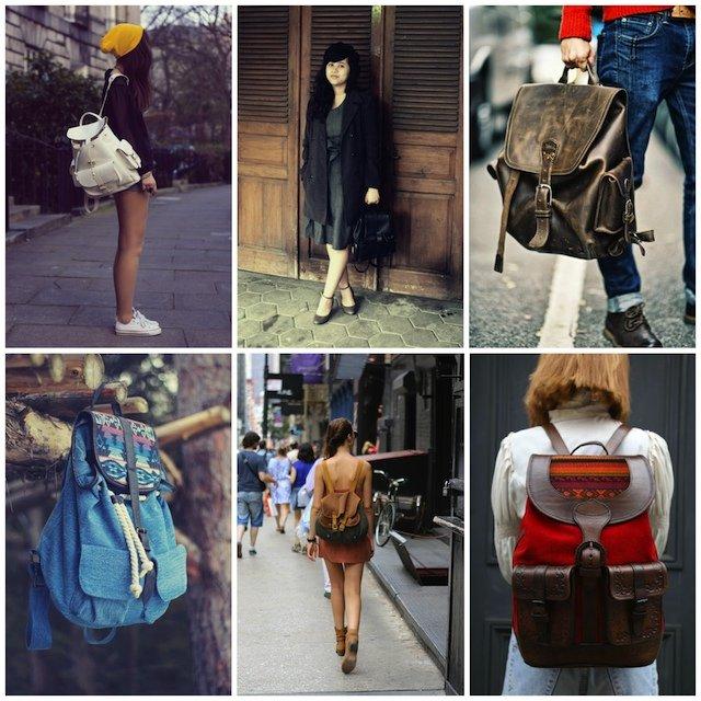 Модные женские рюкзаки 2015