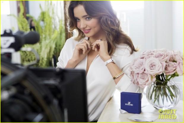 Миранда Керр в рекламной компании Swarovski
