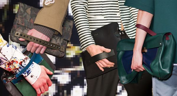 Модные мужские сумки весна-лето 2015