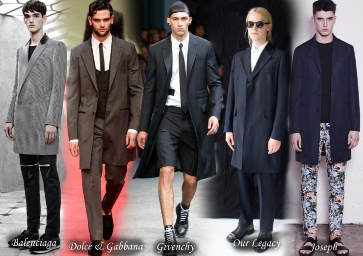 Модные мужские пальто весна 2015