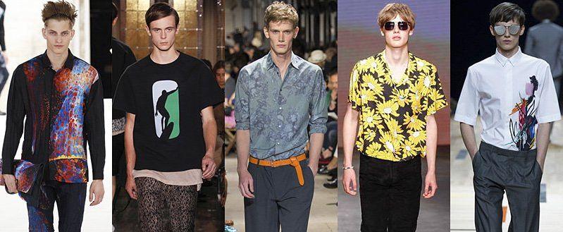 Модные мужские рубашки весна-лето 2015