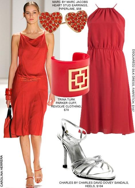 Модные образы ко Дню Святого Валентина