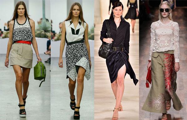 Ассиметричные юбки 2015