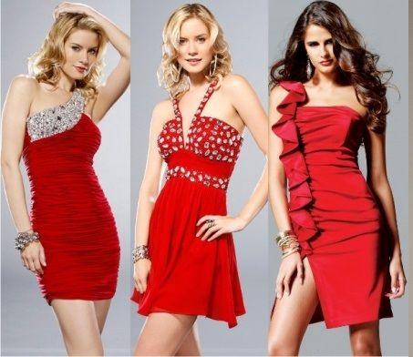 Вечерние платья ко Дню Святого Валентина