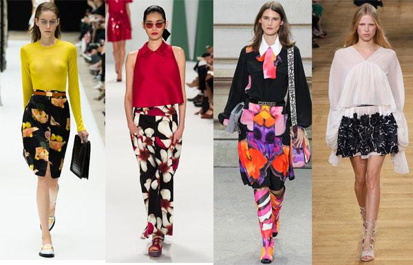 Модные женские юбки весна-лето 2015