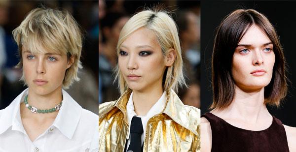 Модные женские стрижки на короткие волосы весна-лето 2015