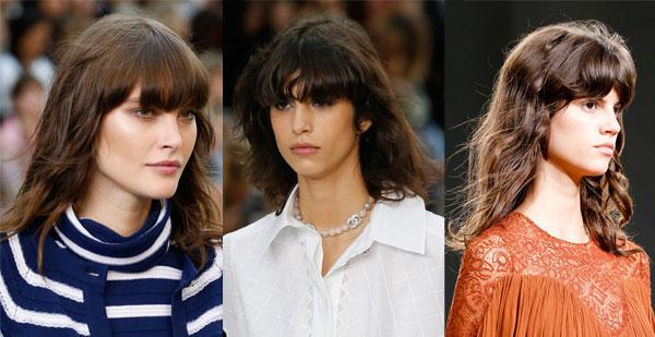 Женские стрижки на волосы средней длины 2015