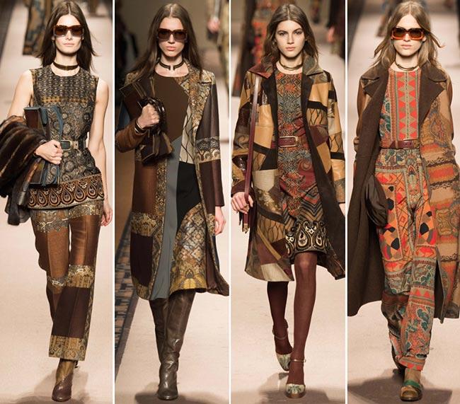 Стиль хиппи мода осень-зима 2015