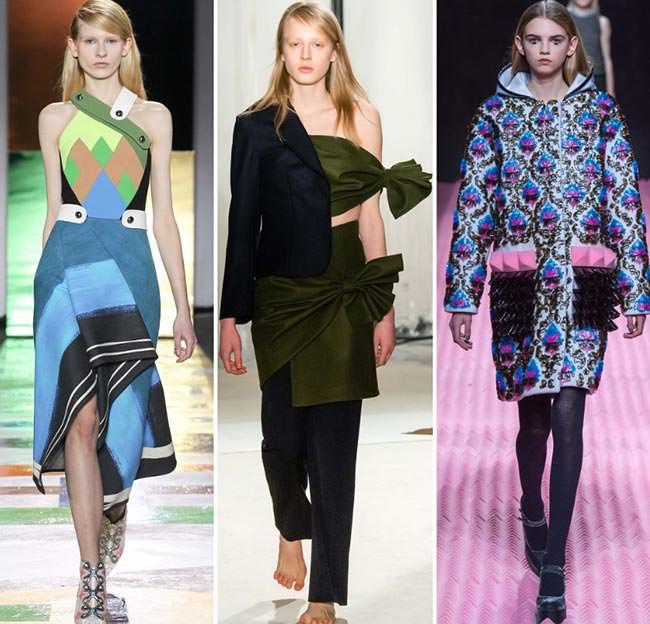 Одежда в стиле футуризм осень-зима 2015-2016