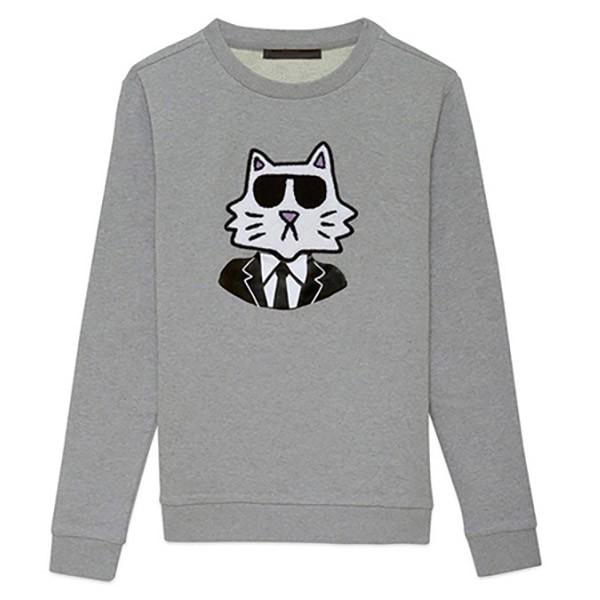 Карл Лагерфельд и его кошка выпустили новую коллекцию