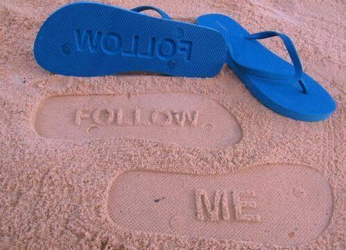 История пляжной обуви - сланцев