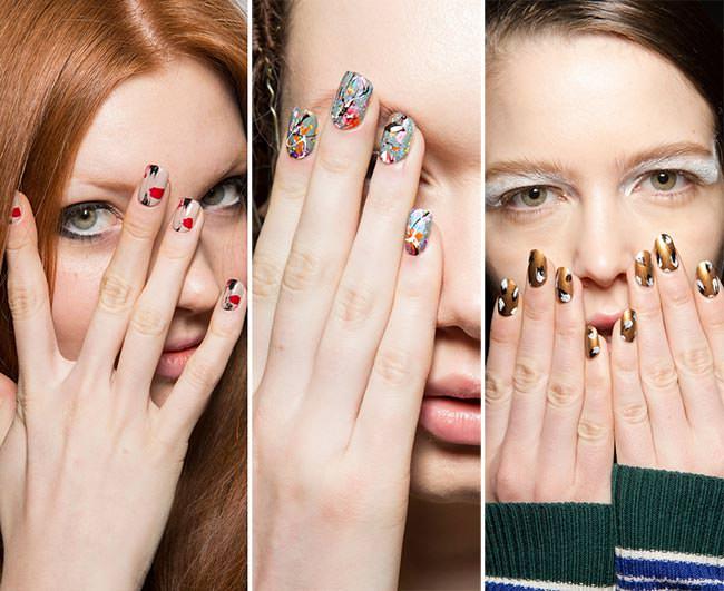 Модные тренды на ногтях