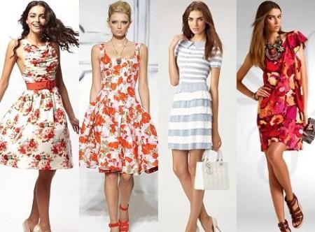 Повседневные платья лето 2015