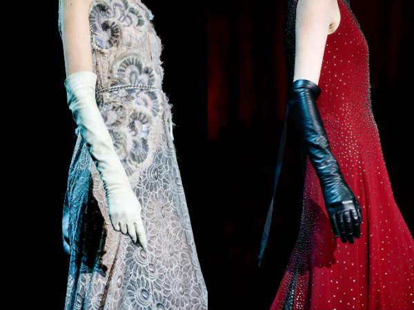 Модные женские перчатки
