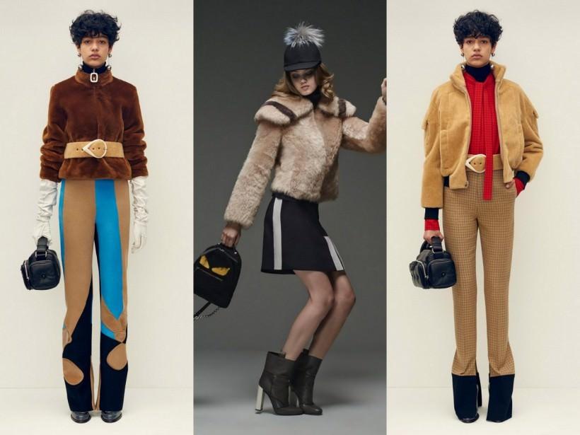 Укороченные женские меховые куртки осень-зима 2015-2016