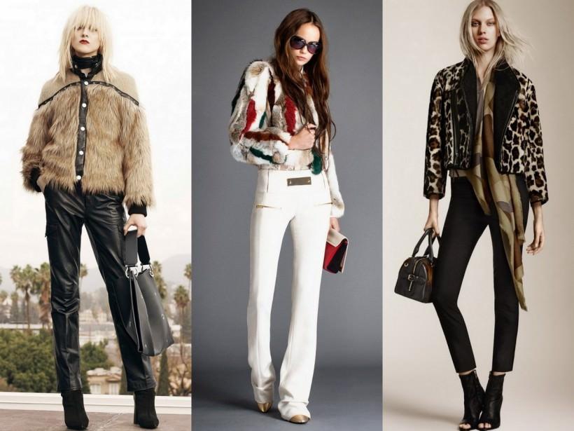 Женские меховые куртки осень-зима 2015-2016