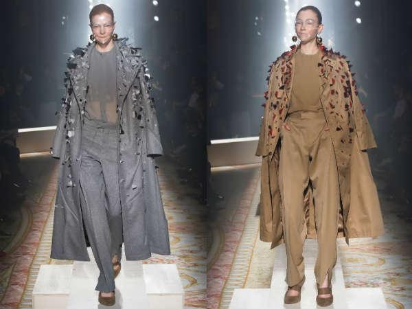Модный декор женских плащей осень-зима 2015-2016