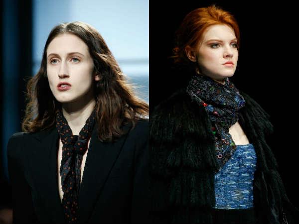 Модные женские шарфы осень-зима 2015-2016