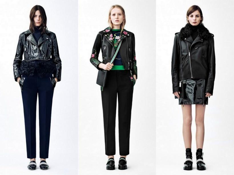 Женские куртки-косухи осень-зима 2015-2016