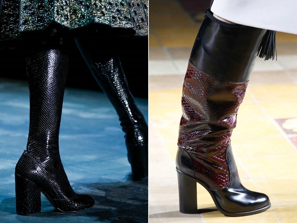Модные женские сапоги осень-зима 2015-2016