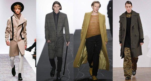 Модные мужские пальто осень-зима 2015-2016