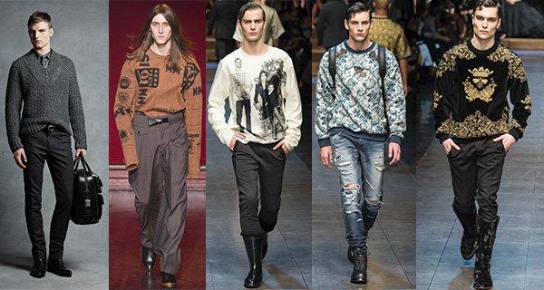 Модные мужские свитера осень-зима 2015-2016