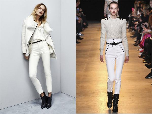 Белые джинсы осень-зима 2015-2016