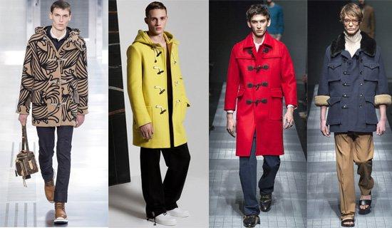 Мужское пальто даффлкот осень-зима 2015-2016