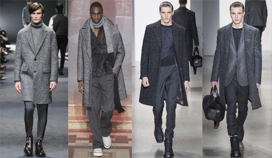 Классическое мужское пальто осень-зима 2015-2016