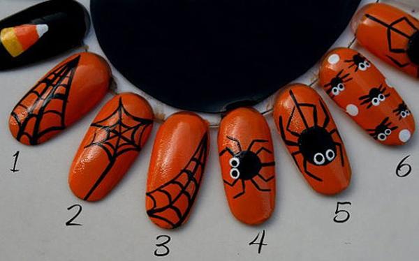 Идеи маникюра на Хэллоуин