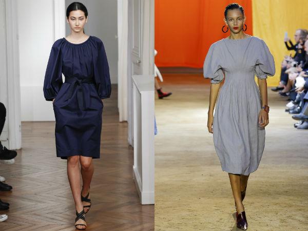 Платья с расклешенными юбками весна-лето 2016